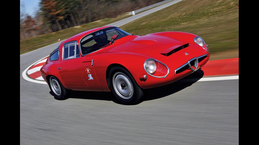 Alfa Romeo Giulia TZ, Frontansicht