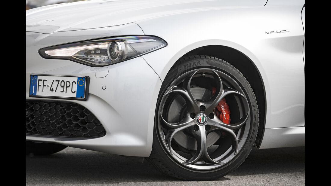 Alfa Romeo Giulia Veloce, Exterieur, Felge
