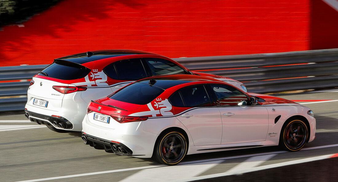 Alfa Romeo Giulia und Alfa Romeo Stelvio Sondermodell Alfa Romeo Racing