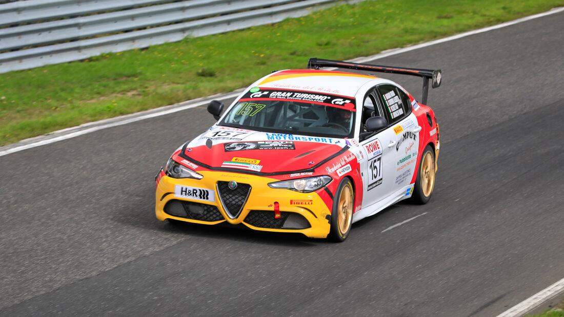 Alfa Romeo GiuliaQuadrifoglio - Startnummer #157 - SP8T - NLS 2020 - Langstreckenmeisterschaft - Nürburgring - Nordschleife