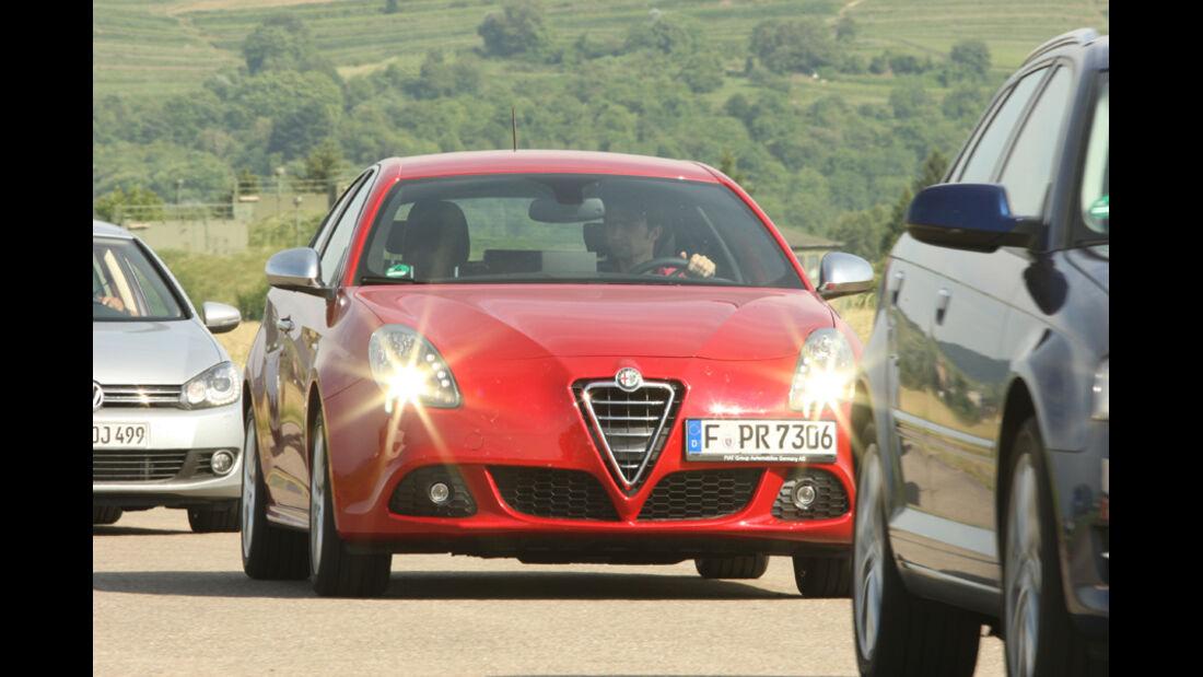 Alfa Romeo Giulietta 1.4 16V, Fronansicht