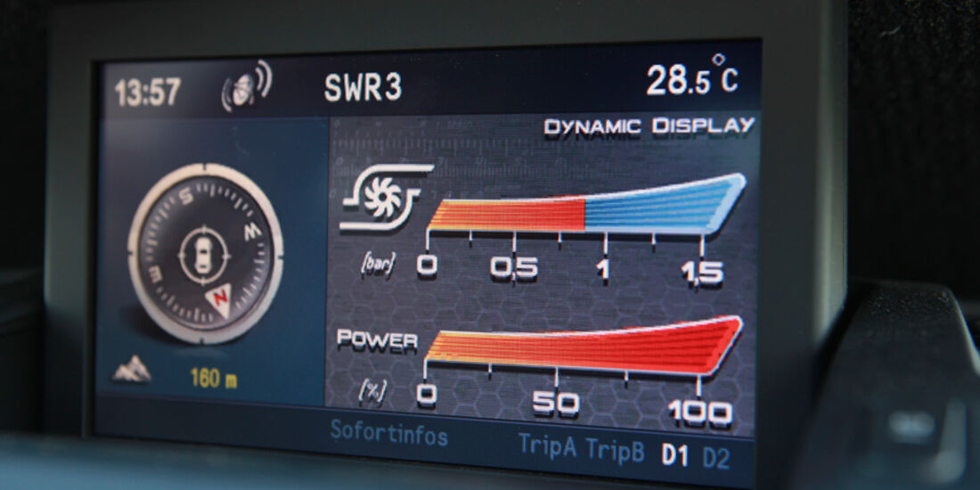 Alfa Romeo Giulietta 1.4 TB 16V, Display, Detail