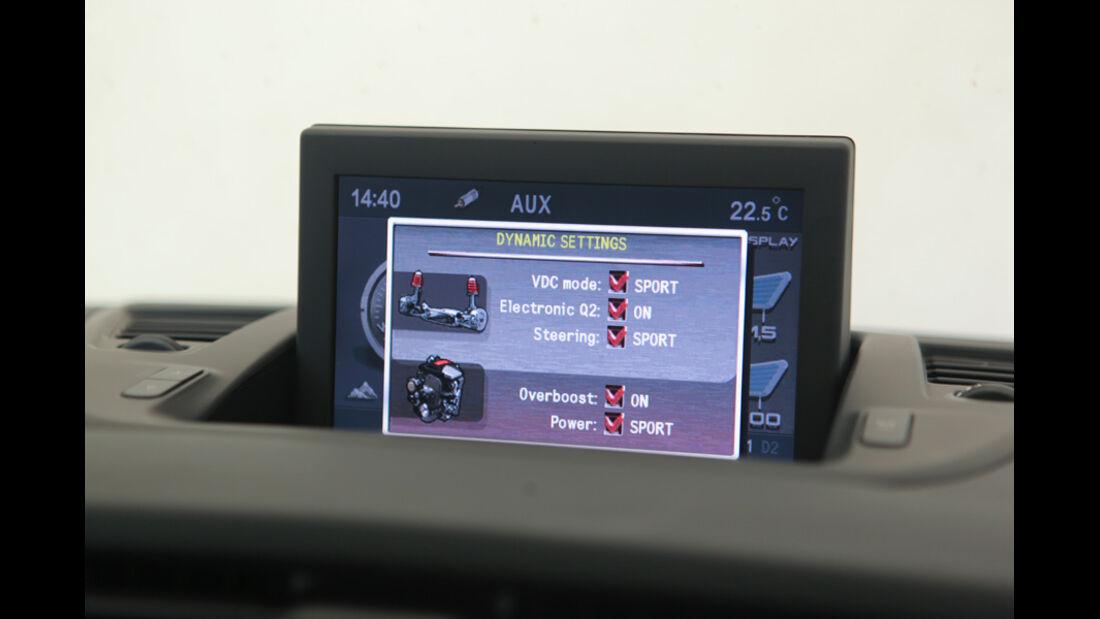 Alfa Romeo Giulietta 1.4 TB 16V, Navi, Bildschirm, Detail