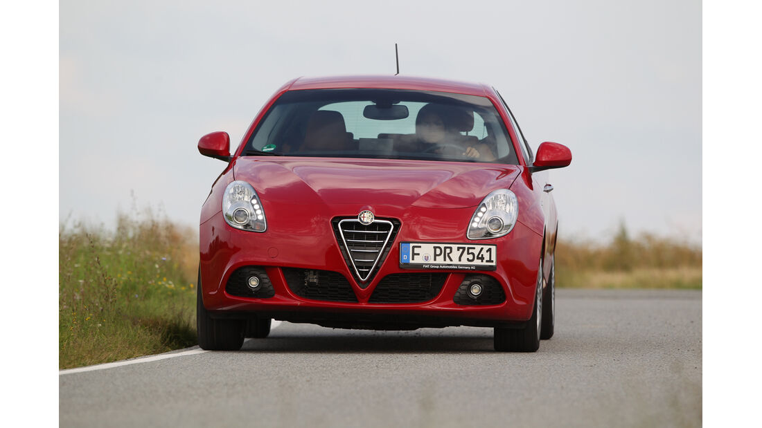 Alfa Romeo Giulietta 1.4 TB, Frontansicht