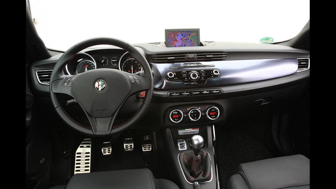Alfa Romeo Giulietta, 1,8 Tbi, 16V, Innenraum