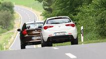 Alfa Romeo Giulietta & BMW 1er