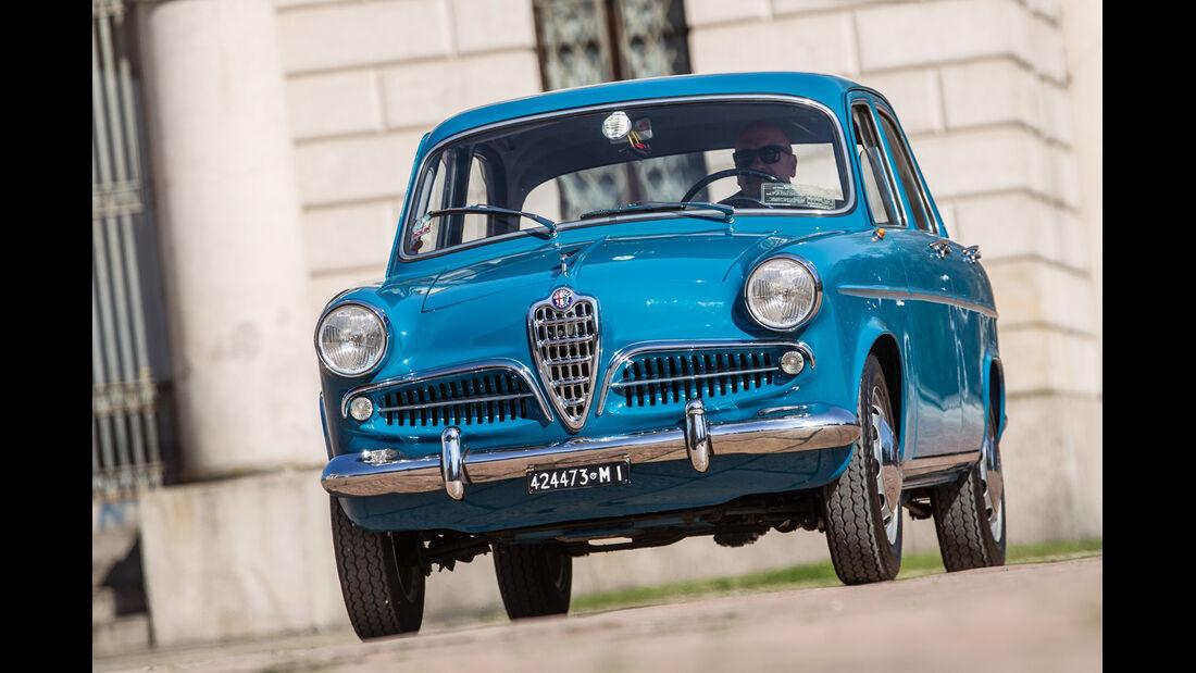Alfa Romeo Giulietta Berlina, Frontansicht