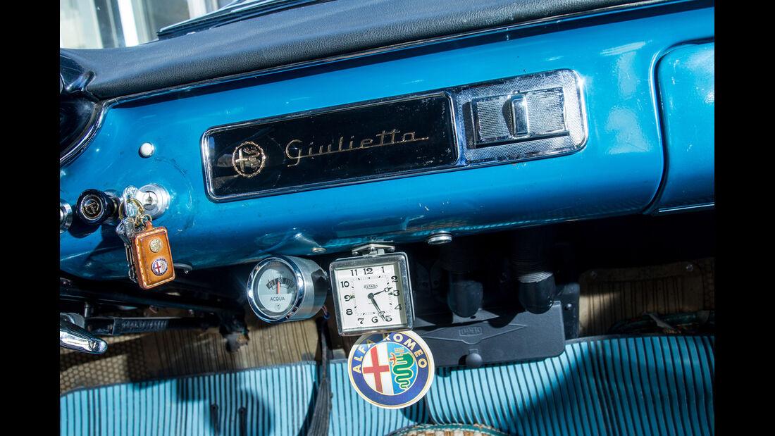 Alfa Romeo Giulietta Berlina, Zündschloss