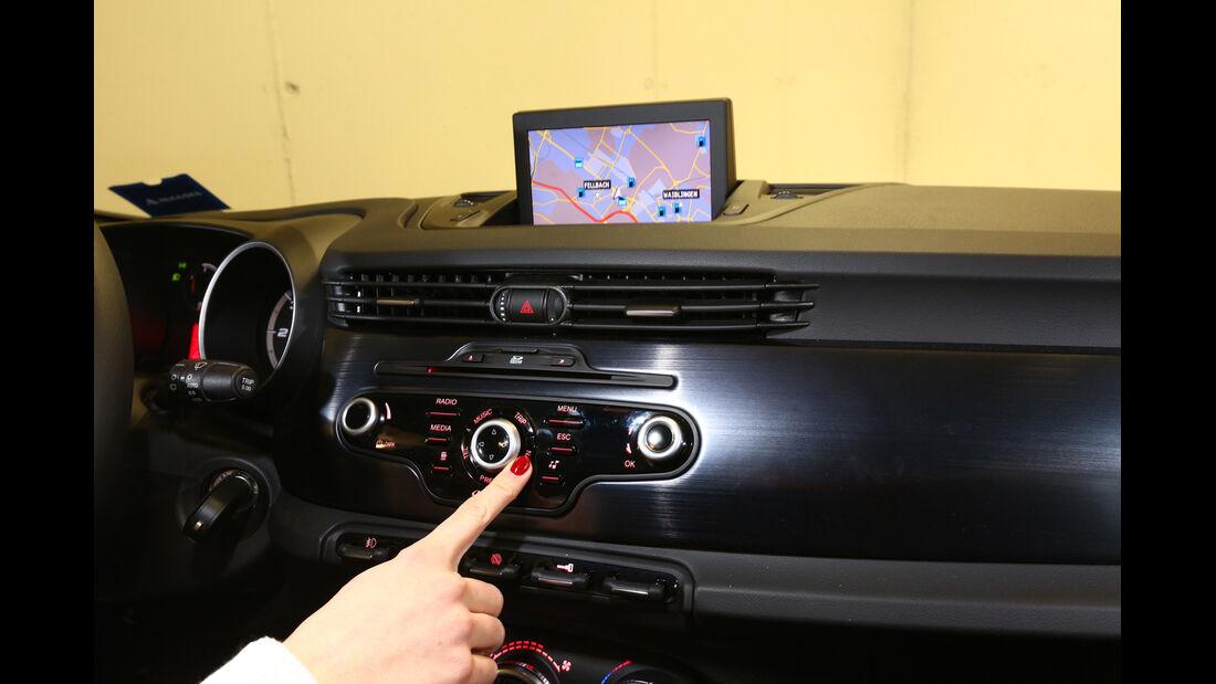 Alfa Romeo Giulietta, Bildschirm, Dislpay, Navi