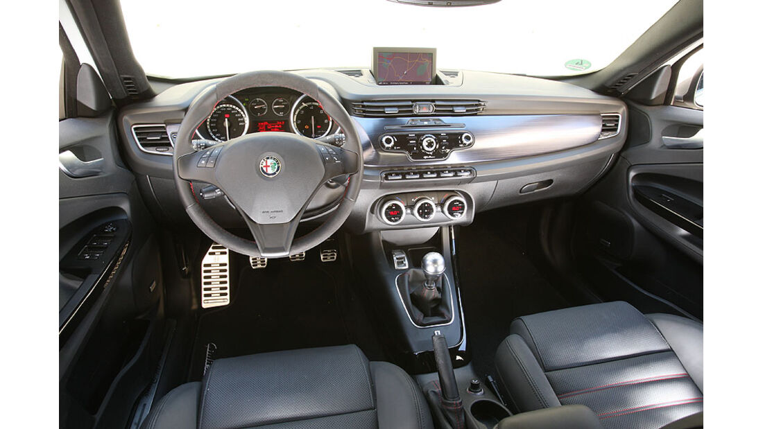 Alfa Romeo Giulietta Cockpit