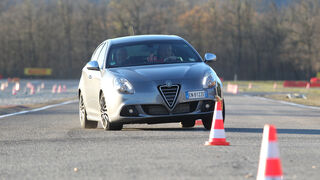 Alfa Romeo Giulietta, Frontansicht, Slalom