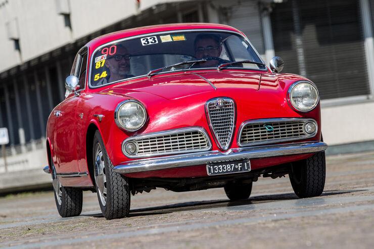 Alfa Romeo Giulietta, Frontansicht