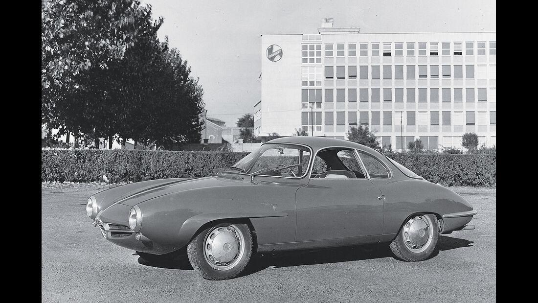 Alfa Romeo Giulietta, Historisches Bild