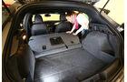 Alfa Romeo Giulietta, Ladefläche, Sitze umklappen