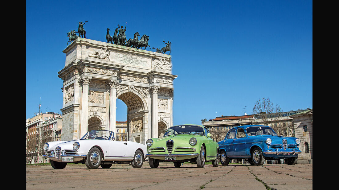 Alfa Romeo Giulietta, Modelle, Triumphbogen