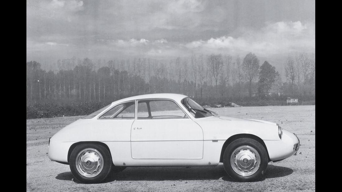 Alfa Romeo Giulietta SZ, Seitenansicht