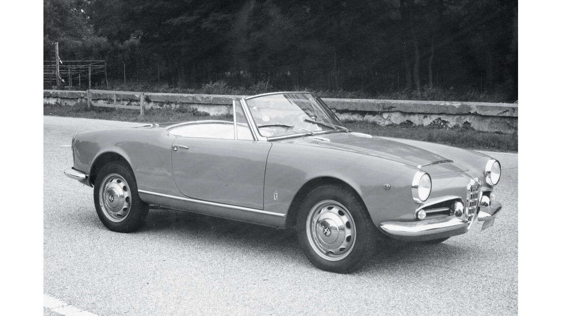 Alfa Romeo Giulietta, Seitenansicht