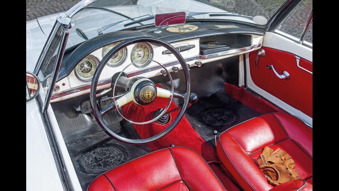 Alfa Romeo Giulietta Spider, Cockpit
