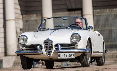 Alfa Romeo Giulietta Spider, Frontansicht