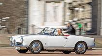 Alfa Romeo Giulietta Spider, Seitenansicht