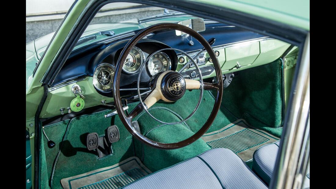 Alfa Romeo Giulietta Sprint, Cockpit