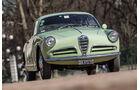 Alfa Romeo Giulietta Sprint, Frontansicht