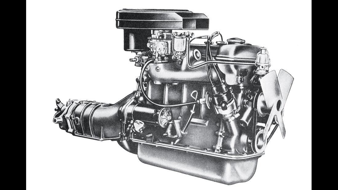 Alfa Romeo Giulietta Sprint Veloce, Motor