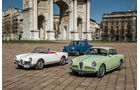 Alfa Romeo Giulietta, Verschiedene Modelle, Mailand