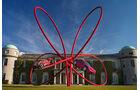 Alfa Romeo Kunstwerk von Gerry Judah in Goodwood