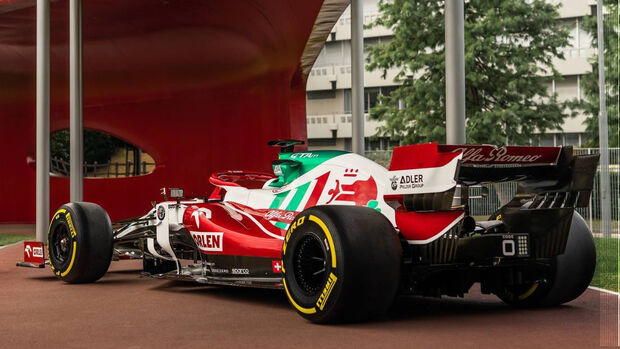 Alfa Romeo - Lackierung - GP Italien 2021