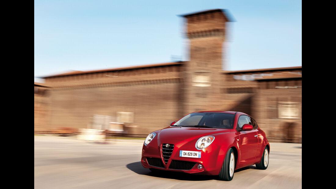 Alfa Romeo Mito 1.4, Seitenansicht