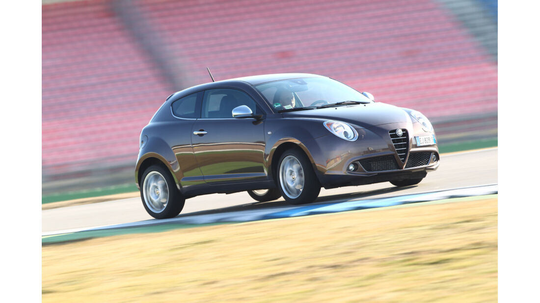 Alfa Romeo Mito 1.4 TB 16V Super, Seitenansicht