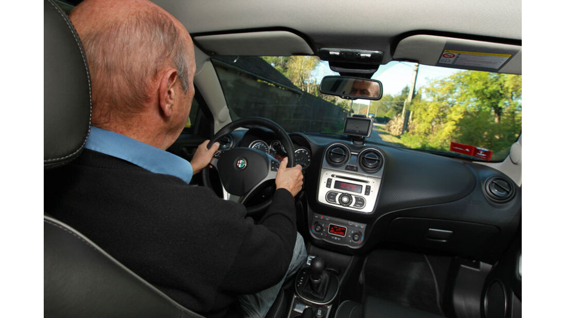 Alfa Romeo Mito TCT, Innenraum, Cockpit