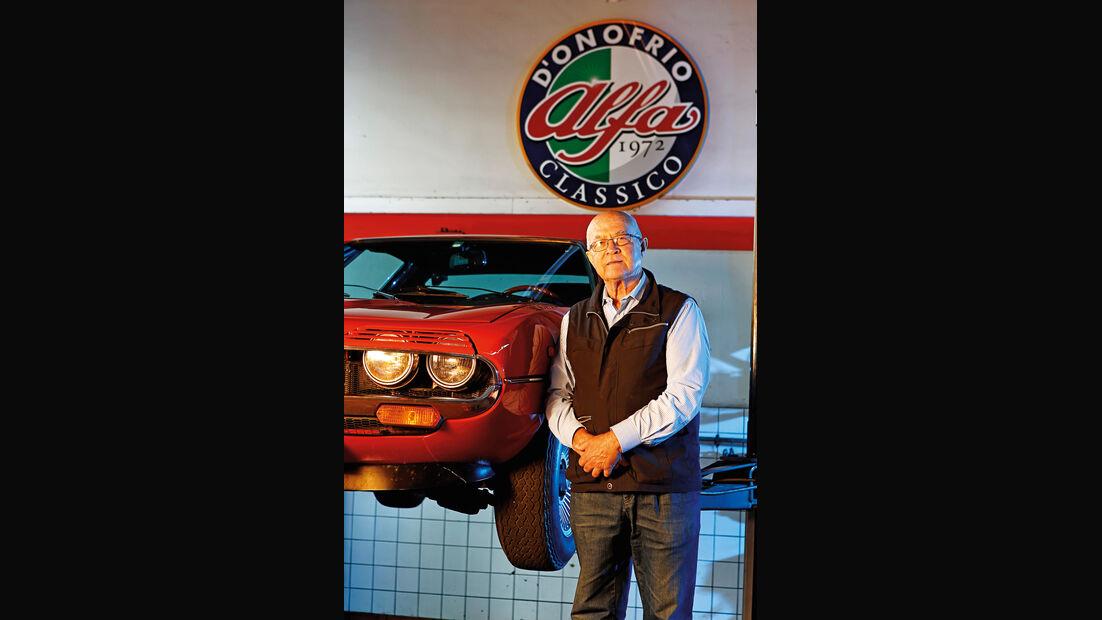 Alfa Romeo Montreal, Giovanni D'Onofrio