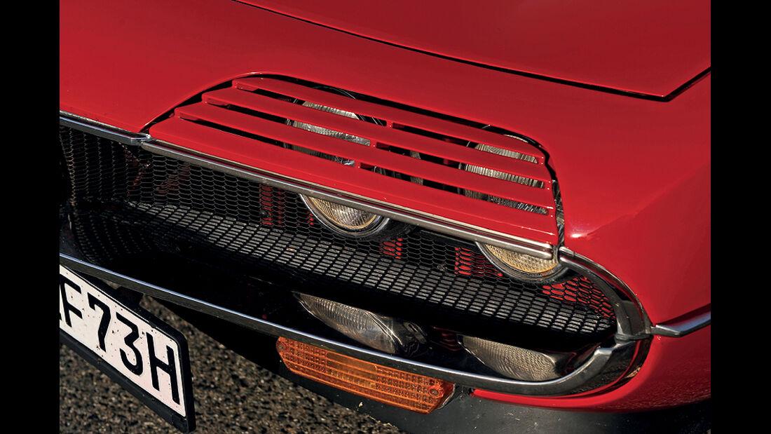 Alfa Romeo Montreal,Scheinwerfer