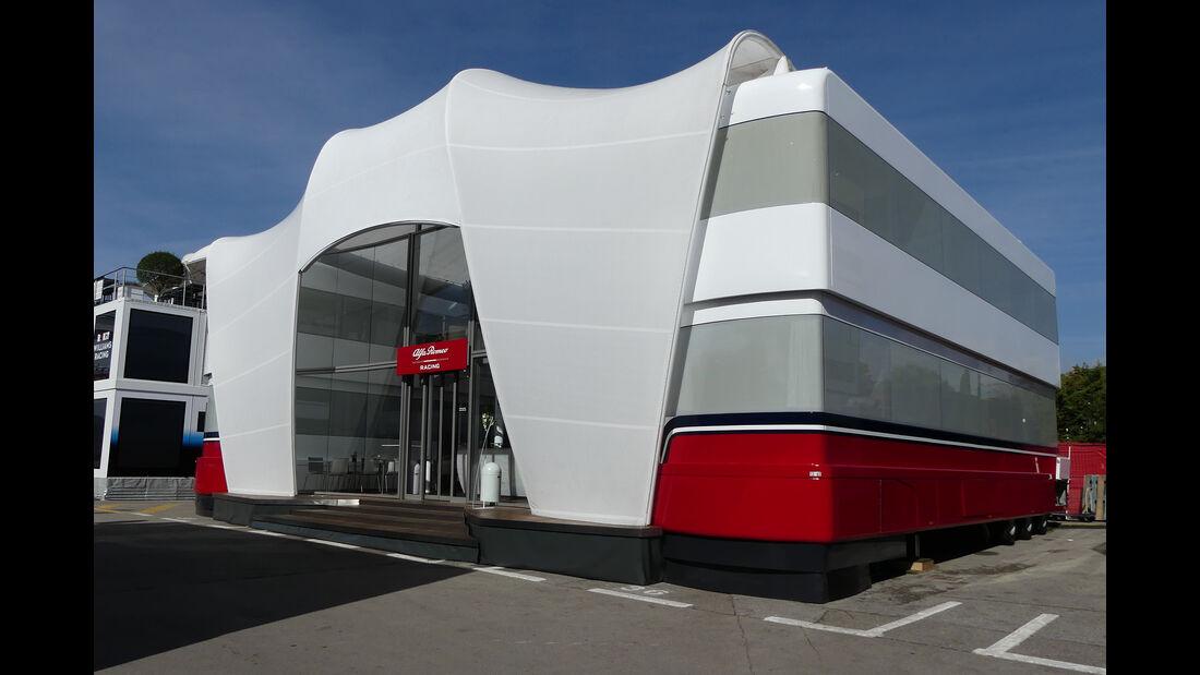 Alfa Romeo - Motorhomes - Formel 1 - GP Spanien 2019