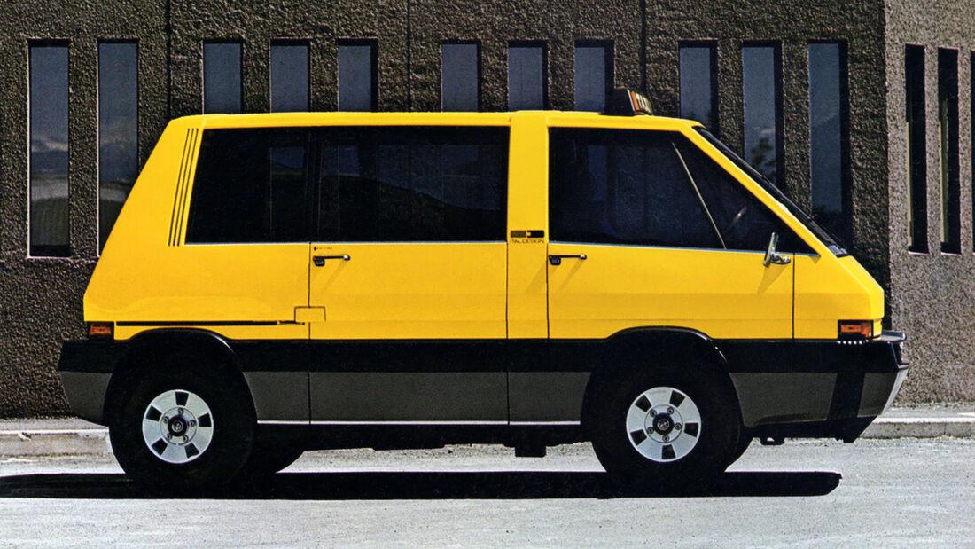 Alfa Romeo New York Taxi 1975