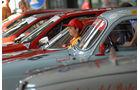 Alfa Romeo-Oldtimer und Nachwuchs-Alfisti
