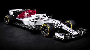 Alfa Romeo Sauber C37 - F1-Auto 2018