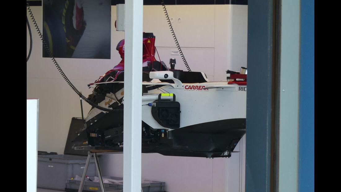 Alfa Romeo Sauber - GP Australien 2018 - Melbourne - Albert Park - Mittwoch - 21.3.2018