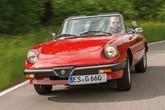 Alfa Romeo Spider 2.0 Aerodinamica, Frontansicht