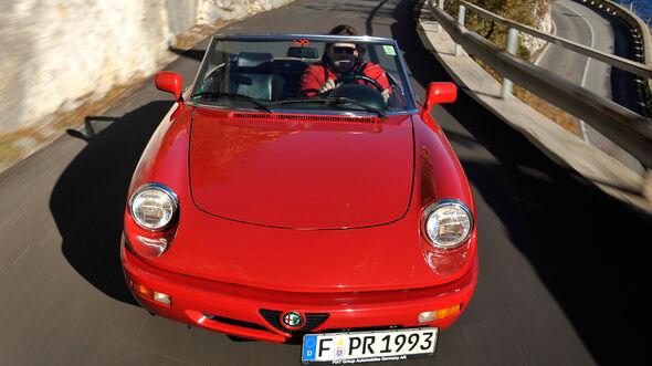 Alfa Romeo Spider 2.0, Frontansicht
