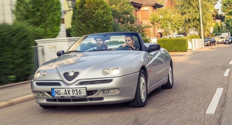 Alfa Romeo Spider 2.0 TS, Frontansicht