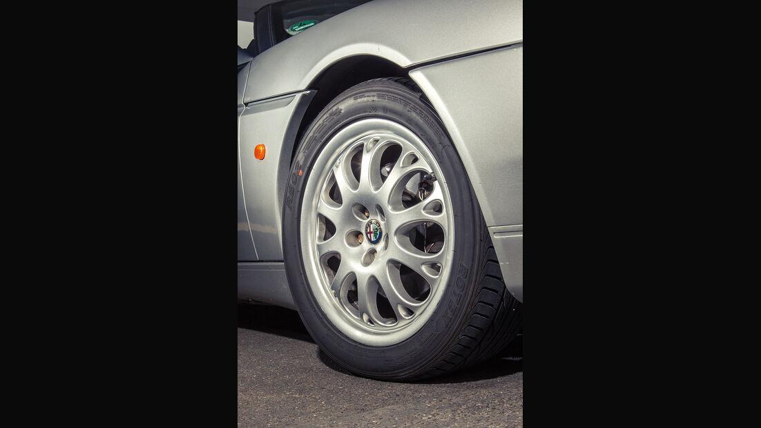 Alfa Romeo Spider 2.0 TS, Rad, Felge