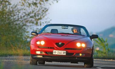 Alfa Romeo Spider, Frontansicht