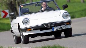 Alfa Romeo Spider , Frontansicht