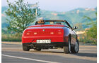Alfa Romeo Spider, Heckansicht