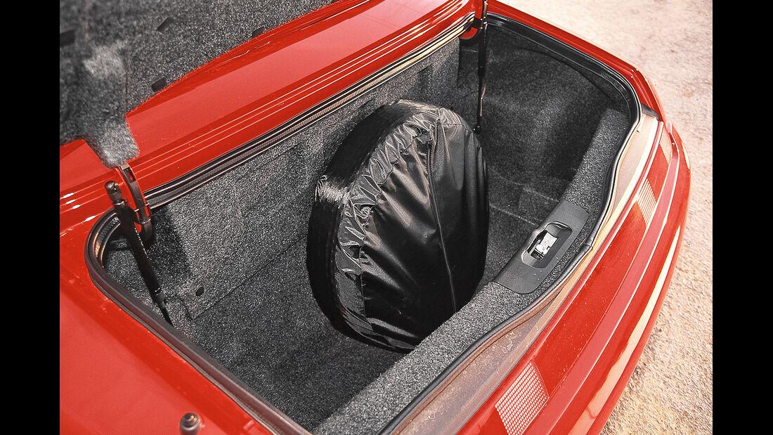 Alfa Romeo Spider, Kofferraum