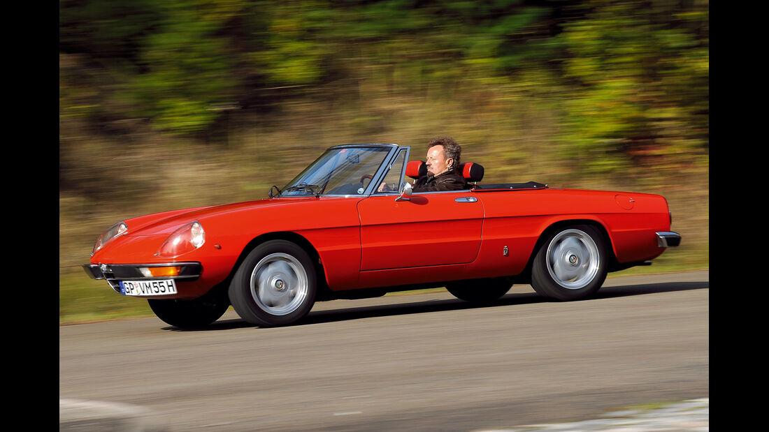 Alfa Romeo Spider, Seitenansicht