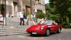 Alfa Romeo Spieder, Axel Marx, Stadtszene, Mailand